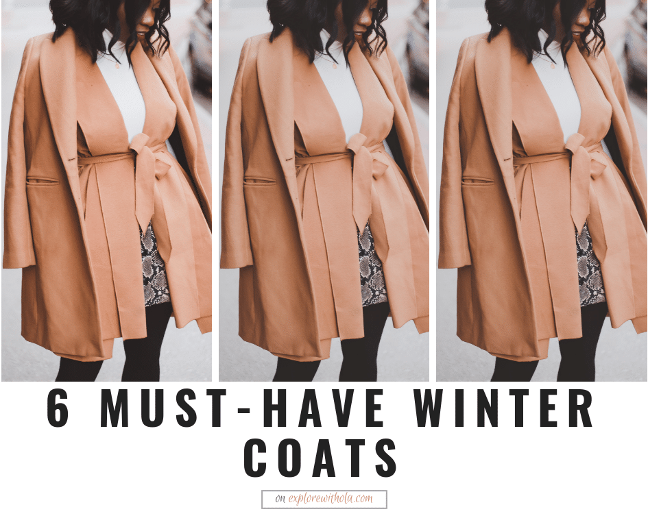 MUST-HAVE WINTER COATS FOR EVERY OCCASION.